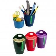Bicchiere Portapenne Multiscomparti  Colori Assortiti Lebez 80291