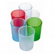 Bicchiere Portapenne Translucent Set 10 pezzi - 4094ASS