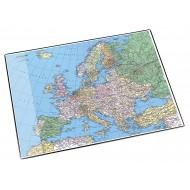 Sottomano Decorativo Europa in elegante Gomma Flessibile cm. 40 x 53 Lebez 45347