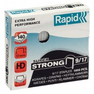 Punti Rapid 9/17 Super Strong per Cucitrici - Scatolo 1000 punti - 24871700