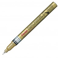 "Marcatore Oro ""EF"" Permanente Punta Extra fine 0,6mm paint marker linea amiko - Pentel MFP10-X"