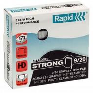 Punti Rapid 9/20 Super Strong per Cucitrici - Scatolo 1000 punti - 2487100