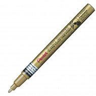 "Marcatore Oro ""F"" Permanente Punta Fine 2,9mm paint marker linea amiko - Pentel MSP10-X"