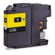 Cartuccia Giallo/Yellow Compatibile con BROTHER LC12E - Brother CART-BROLC12E-Y