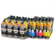 Multi Pack 10 pezzi Cartucce Compatibili con BROTHER LC223 - Brother CART-BRO223-10
