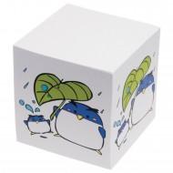 Cubo Carta Bianca per Appunti - Dorso Incollato - Stampa sui quattro lati - C3A