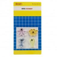 Magneti acrilici extra forti blister 4 pezzi assortiti - Wiler MF4