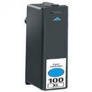Cartuccia Ciano Compatibile con LEXMARK N. 100XL BK Doppia Capacità