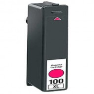 Cartuccia Magenta Compatibile con LEXMARK N. 100XL Doppia Capacità