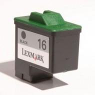 Cartuccia Nero Compatibile con LEXMARK N. 16 BK Doppia capacità