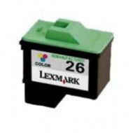Cartuccia colore Compatibile con LEXMARK N. 26 doppia capacità
