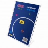 """Portadepliant  a """"L"""" Formato A4 in PS stampato ad iniezione - Wiler DSLA4"""
