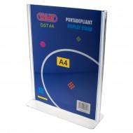 """Portadepliant  a """"T"""" Formato A4 in PS stampato ad iniezione - Wiler DSTA4"""
