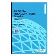 Ricevute fiscali - Fatture (ric. fiscali) Generiche 50 fogli duplice copia autoricalcante - Gruppo Buffetti DU1675FCN00