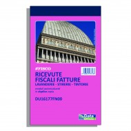 Ricevute fiscali - fatture per attività specifiche lavanderie / tintorie / stirerie - Gruppo Buffetti DU16177FN00