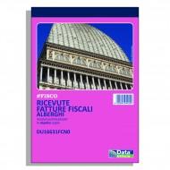 Ricevute fiscali - fatture per attività specifiche Alberghi 7 giorni - Gruppo Buffetti DU16631FCN0