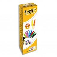 Penna a sfera Cristal Multicolor punta 1,6mm confezione 20 penne assortite - Bic 9285531