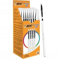 Penna a sfera Nero Cristal UP punta 1,2mm confezione 20 penne - Bic 950202