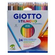 Pastelli stilnovo Acquarell Astuccio da 24 - Giotto Fila 255800 / 79428