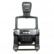 Datario con testo 49x28mm autoinchiostrante Timbro Professional 4.0 personalizzabile cartuccia 6/53 - Trodat 83124