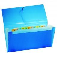 Portaricevute Pocket a 13 Scomparti in Polipropilene Chiusura con elastico - XE135