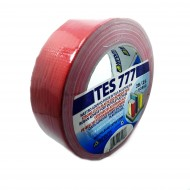Nastro Adesivo Telato TES 702 / 777 Rosso 38mm x 25m - Syrom SY703825-R