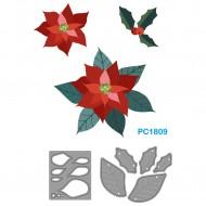 Fustelle Sottili Per Macchina Fino a 80mm forma fiori - Wiler PC1809