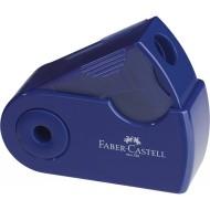 Temperamatite con serbatoio SLEEVE a 2 fori blu - Faber Castell 182701 / 5463