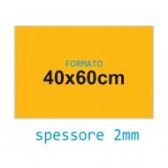 Feltro rigido giallo becco oca 2 mm 40x60 confezione foglio singolo - Wiler FELT4060H2C04