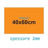 Feltro rigido arancione 2 mm 40x60 confezione foglio singolo - Wiler FELT4060H2C05