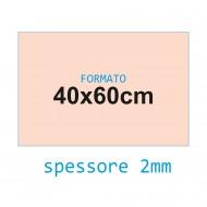 Feltro rigido rosa antico 2 mm 40x60 confezione foglio singolo - Wiler FELT4060H2C10