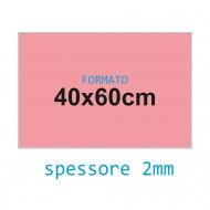 Feltro rigido rosa 2 mm 40x60 confezione foglio singolo - Wiler FELT4060H2C11
