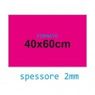 Feltro rigido fucsia 2 mm 40x60 confezione foglio singolo - Wiler FELT4060H2C12