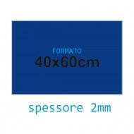 Feltro rigido blu scuro 2 mm 40x60 confezione foglio singolo - Wiler FELT4060H2C18