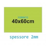 Feltro rigido verde chiaro 2 mm 40x60 confezione foglio singolo - Wiler FELT4060H2C20
