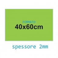 Feltro rigido verde pisello 2 mm 40x60 confezione foglio singolo - Wiler FELT4060H2C21