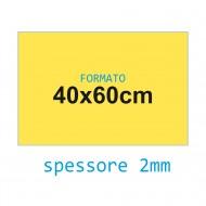 Feltro soffice giallo 2 mm 40x60 confezione foglio singolo - Wiler FELT4060S2C03