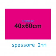 Feltro soffice fucsia 2 mm 40x60 confezione foglio singolo - Wiler FELT4060S2C12