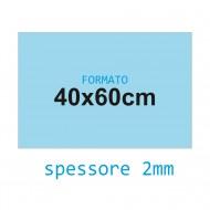 Feltro soffice celeste 2 mm 40x60 confezione foglio singolo - Wiler FELT4060S2C15