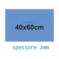 Feltro soffice azzurro cielo 2 mm 40x60 confezione foglio singolo - Wiler FELT4060S2C16