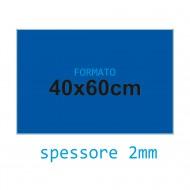 Feltro soffice blu 2 mm 40x60 confezione foglio singolo - Wiler FELT4060S2C17