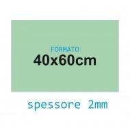 Feltro soffice verde acqua 2 mm 40x60 confezione foglio singolo - Wiler FELT4060S2C19