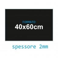 Feltro soffice nero 2 mm 40x60 confezione foglio singolo - Wiler FELT4060S2C30