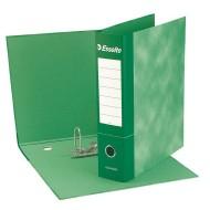 Registratore raccoglitore ad anelli ESSENTIAL G75 Verde Dorso 8cm - Esselte 390775180
