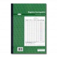 Registro dei Corrispettivi 13/13 Carta Chimica Duplice Copia Autoricalcanti - Multiart 0602