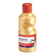 Tempera Pronta Oro Metallizzato 250ml School Paint - Giotto Fila 531401