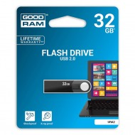 Pen Drive 32GB USB 2.0 URA2 in metallo  Goodram