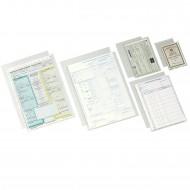 """Buste a """"U"""" 8x12 in PPL Lucido Trasparente - Box 100 buste - Esselte 395800300"""