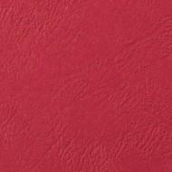 Cartoncino Rosso A4 230gr Goffrato Copertine Leathergrain 100pz - GBC CE040031