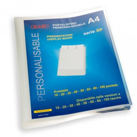 675b227656 Portalistino Personalizzabile Trasparente a 10 Buste Antiriflesso Formato A4  in PPL -Wiler XP10T